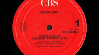Jennifer Rush - I Come Undone (Extended Version)