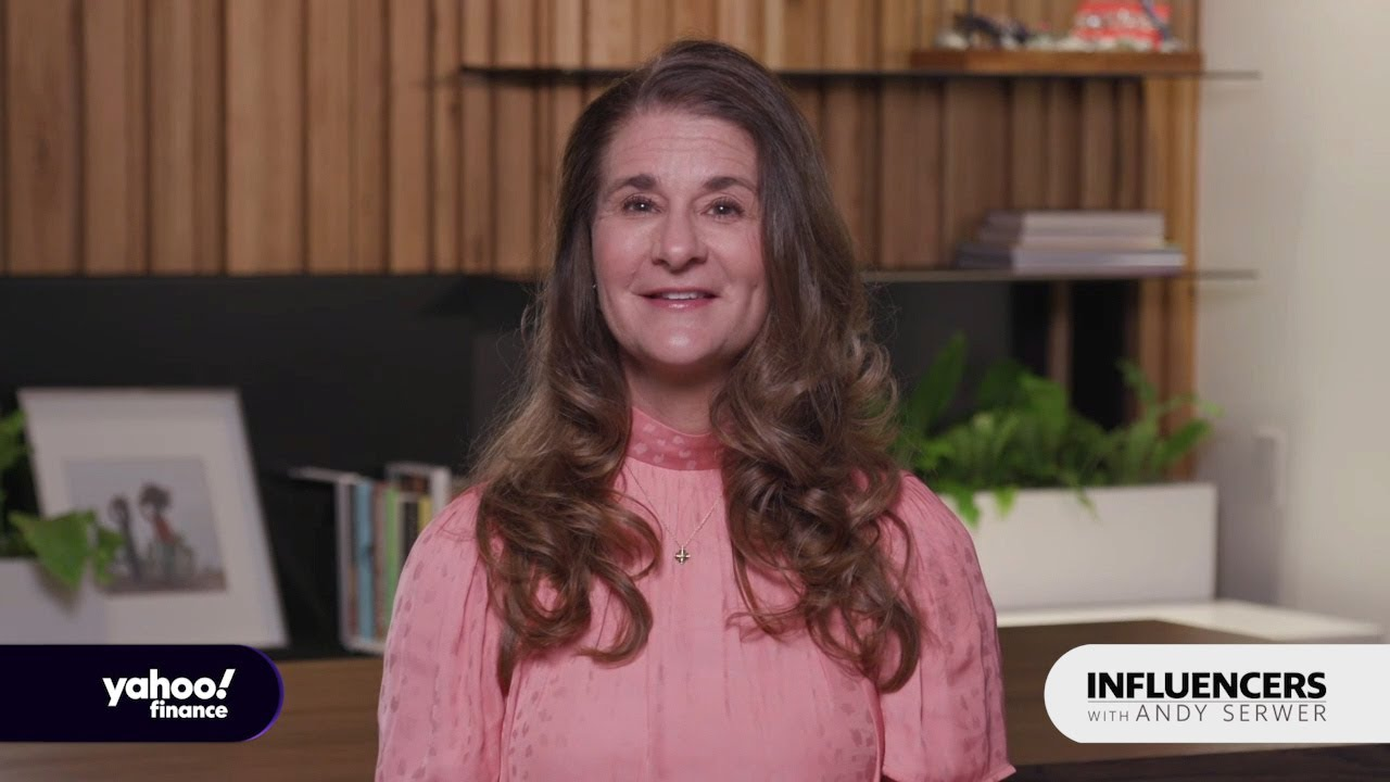 Melinda Gates talks coronavirus, rebuilding the economy, and the lack of  leadership in the US - YouTube