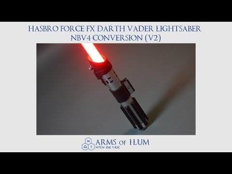 Hasbro Force FX Darth Vader Lightsaber NBv4 Conversion (V2)