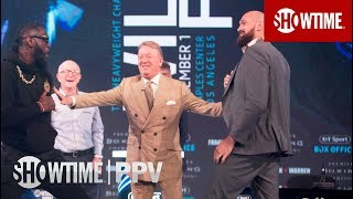 Tyson Fury Demands Pre-Fight Spar with Deontay Wilder | SHOWTIME PPV