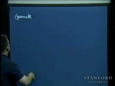 Lecture 22 | Programming Paradigms (Stanford)
