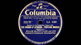 Mengelberg conducts Beethoven The Ruins of Athens - Turkish March (1930)