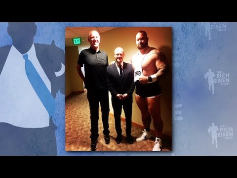 Rich Eisen's Epic Day with Katy Perry, Bill Walton, & The Mountain from Game of Thrones 7/19/17