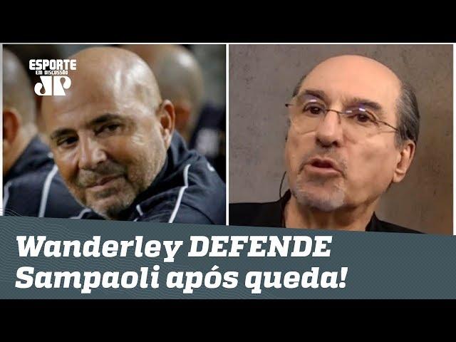 Wanderley DESABAFA e DEFENDE Sampaoli após eliminação do Santos!