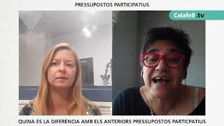 Entrevista Helena Rubio, Tinenta d'Alcalde a l'Ajuntament de Calafell