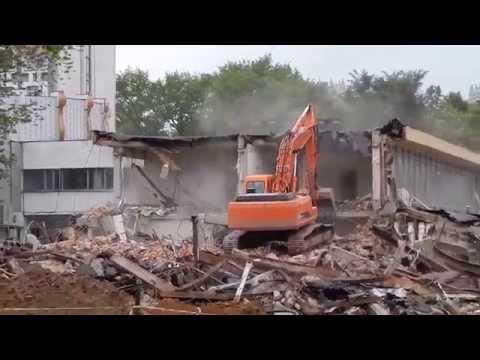 Стадион Динамов Минске разрушен