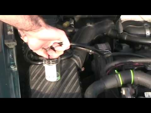 Fuel filter replacement and priming fuel lines: mk4 VW Jetta