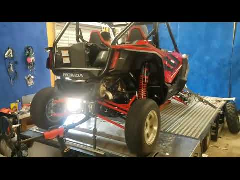 Alba Racing Dyno test 2019 Honda Talon 1000R