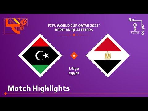 Libya v Egypt | FIFA World Cup Qatar 2022 Qualifier | Match Highlights