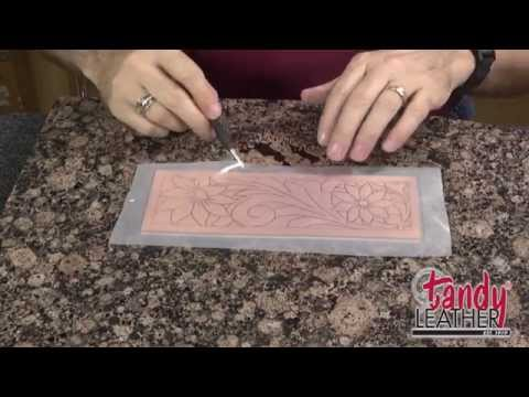 Learning Leathercraft with Jim Linnell, Lesson 1: Tracing A Pattern