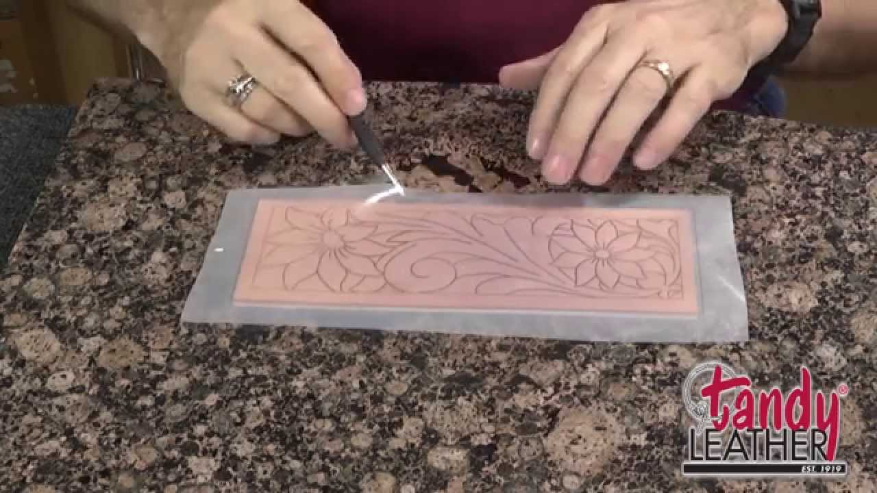 28cc008e81f5f Learning Leathercraft with Jim Linnell, Lesson 1: Tracing A Pattern