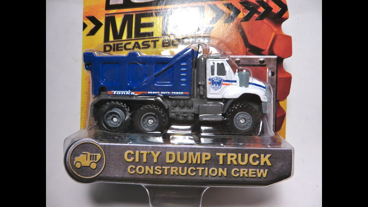 Tonka Diecast City Dump Truck Construction Crew