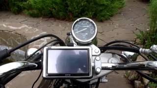 видео Навигатор для мотоциклов Motorrad Navigator IV