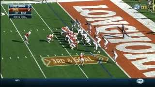2014 Big 12 Football - West Virginia at Texas Highlights