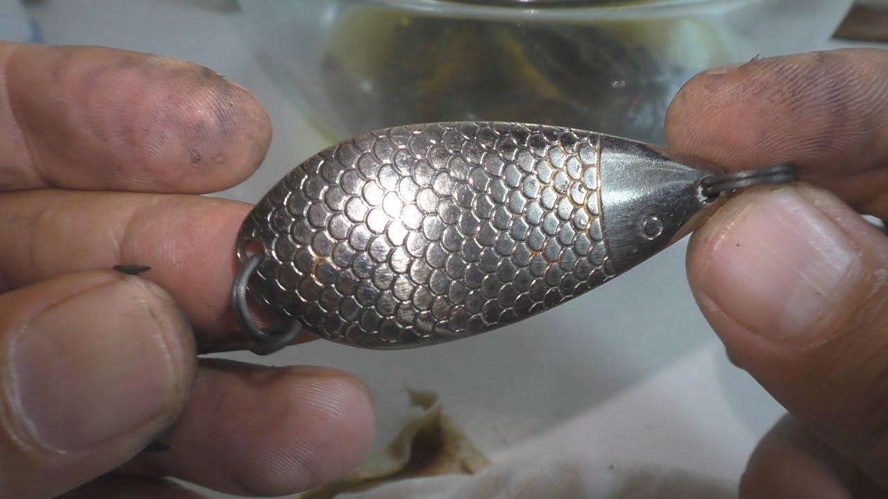 Как убрать ржавчину с рыболовных крючков