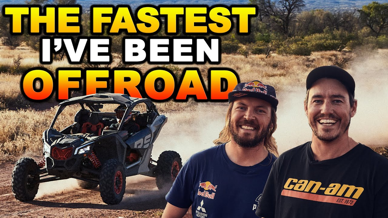 DESERT RACING WITH TOBY PRICE! Shauno's first time in an off-road side-by-side | Can-Am