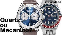 Relógio QUARTZ ou MECANICO? (Prós e contras de cada)