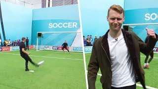 Jamie Borthwick & Max Bowden take on the Soccer AM Pro AM ⚡