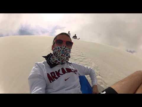 White Sands National Monument Dune Sledding