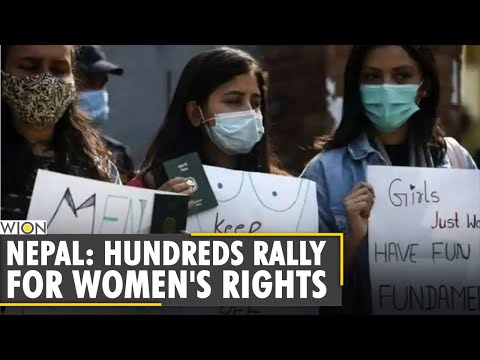 Nepal: Hundreds rally for women's rights