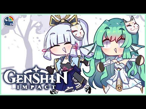 【GENSHIN IMPACT】 benshin bimpact 【NIJISANJI EN   Finana Ryugu】 「LazuLight」