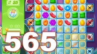 Candy Crush Jelly Saga Level 565 (3 star, No boosters)
