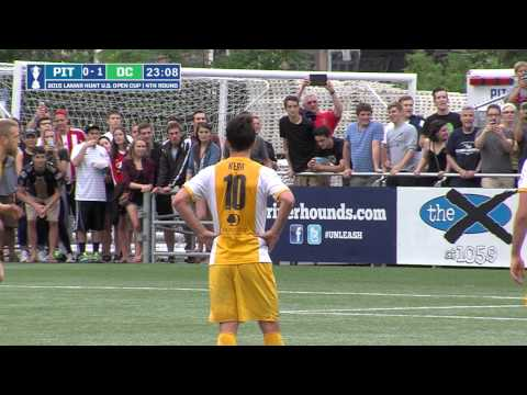 US Open Cup Pittsburgh: 1 DC United: 3 Highlights 6-17-15