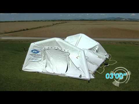 Rapid Deployment Tent/ Inflatable tent/Self Erecting Tent/Rescue tent/hospital tent  TAG