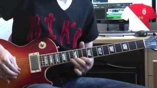 Slash Lesson - Paradise City (outro solo slow lesson)