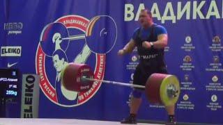 Ruslan Albegov — 200 + 255 (2016 Russian Weightlifting Championships)