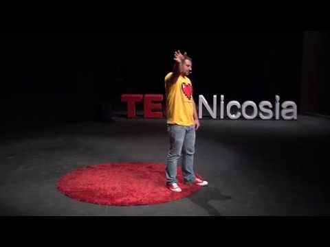 Fear of dying, or fear of living?   Achilleas Koukkides   TEDxNicosia