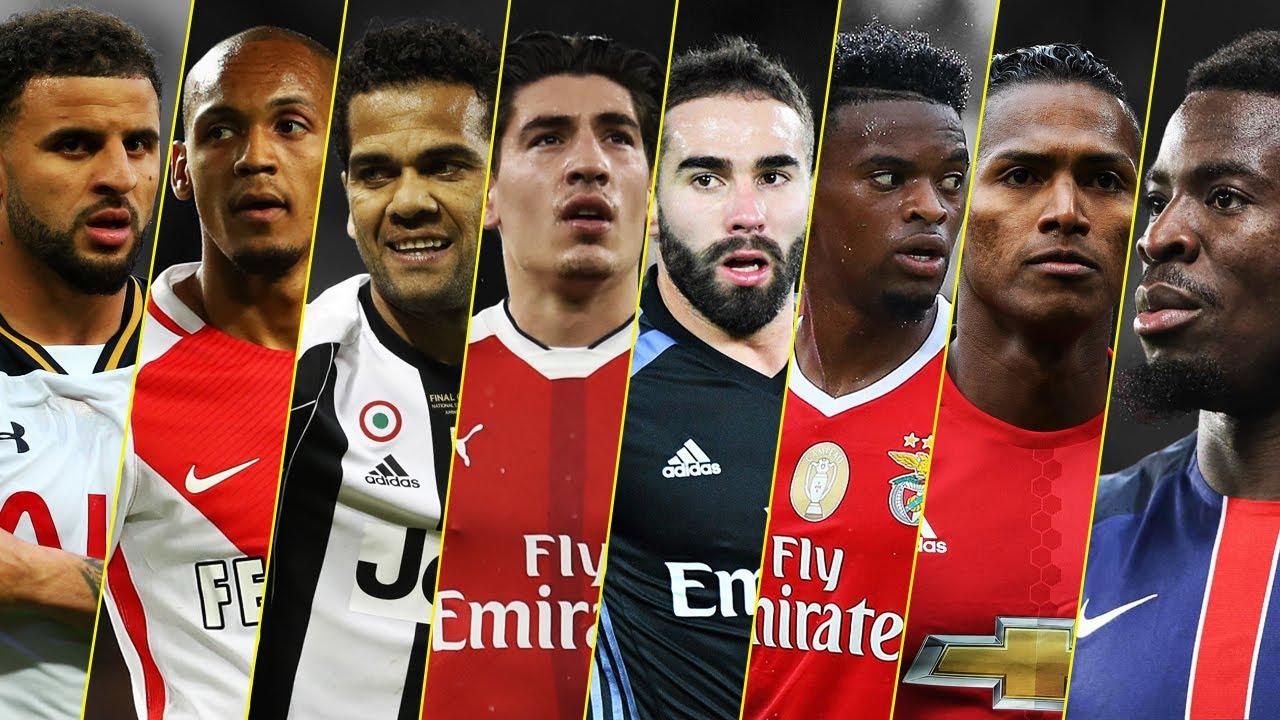 Footballer Daniel Alves: the best right defender of our time
