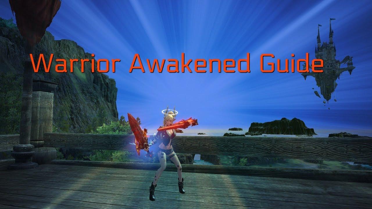 Tera Awakened | Warrior Personal PvE Guide