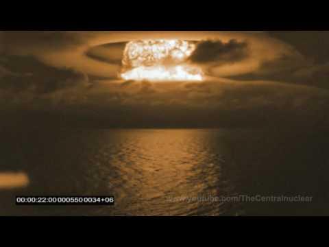 Hydrogen bomb in the Pacific (Castle Bravo 1954)