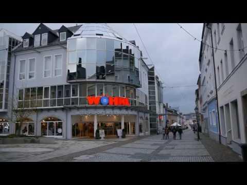 D: Hof/Saale. Oberfranken. Eindrücke aus der Innenstadt. November 2017