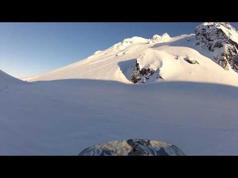 Snowmobiler taken down by avalanche