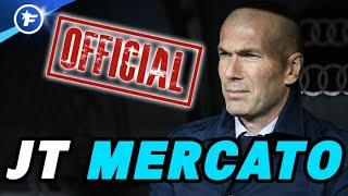 Zinedine Zidane dit stop, le Real Madrid en pleine ébullition | Journal du Mercato