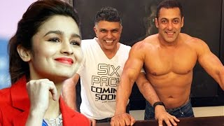 Alia Bhatt IMPRESSED By Salman Khan's SHIRTLESS Body