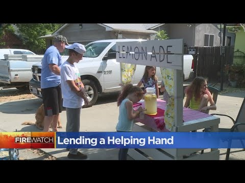 South Sacramento Kids Raise $1,000 For Humane Society Affected By Carr Fire