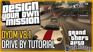 gTA San Andreas - DYOM Mod - Drive-by - Mission by GTAIVFan17 (with passanger mod, 1080p HD)