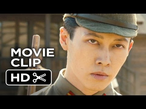 Unbroken Movie CLIP  The Bird 2014  Jack OConnell Movie HD