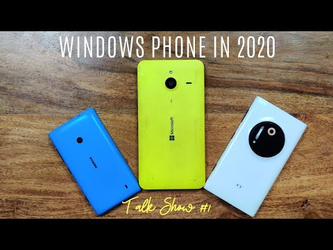 Windows Phone In 2020 - Is It Dumb Or Usable | Nokia Lumia 1020