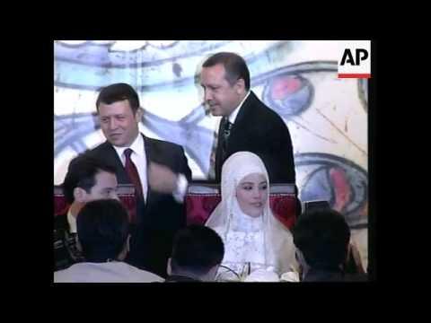 WRAP World leaders attend Erdogan daughter's marriage