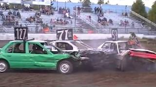 demolition derby 6 1 2019 mini main kdda