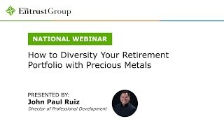 How to Diversify Your Retirement Portfolio with Precious Metals - Video Image