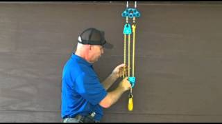 Rope and Pulley Systems: Segment 4 - 2:1 with a Redirect Pulley pds.m2ts