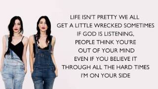 The Veronicas - On Your Side ( Lyrics)