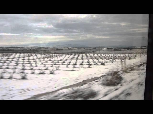 Neu a Montserrat i al Penedès  Febrer 2015  Part 2