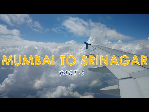 Mumbai to Srinagar | Rajdhani Express - Delhi | Timelapse | Part-1