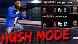 Level 8 Puts 2v1 Trash Talkers in Hush Mode! (GTA 5 Online)